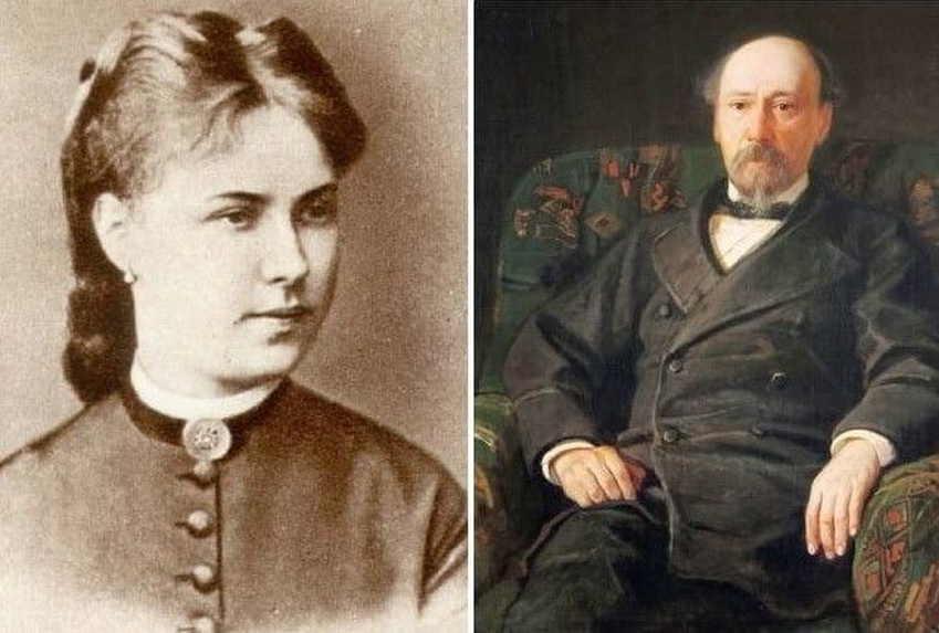 Николай Некрасов и Фекла Викторова