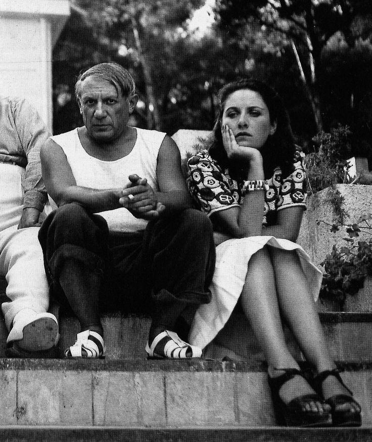 Пабло Пикассо и Дора Маар