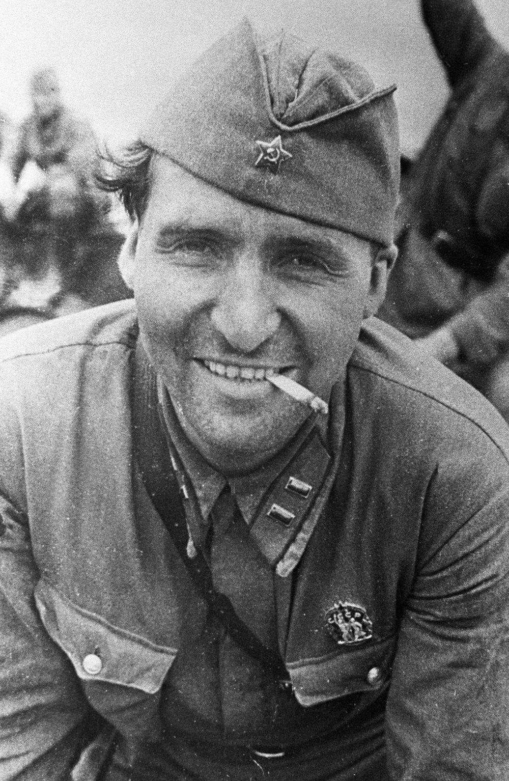 Константин Симонов во время войны
