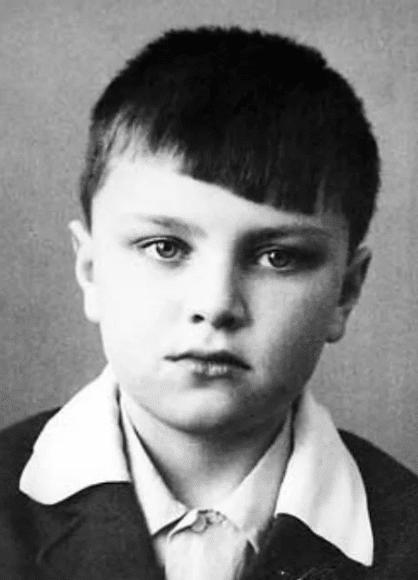 Владимир Турчинский в детстве