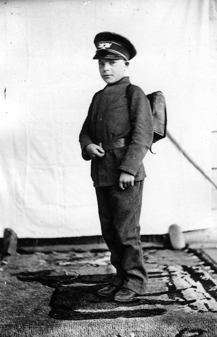 Константин Паустовский в детстве