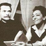 Вероника Тушнова с Александром Яшиным