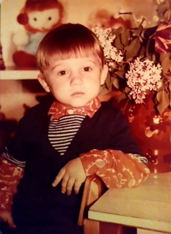Алексей Фомин в 2 года