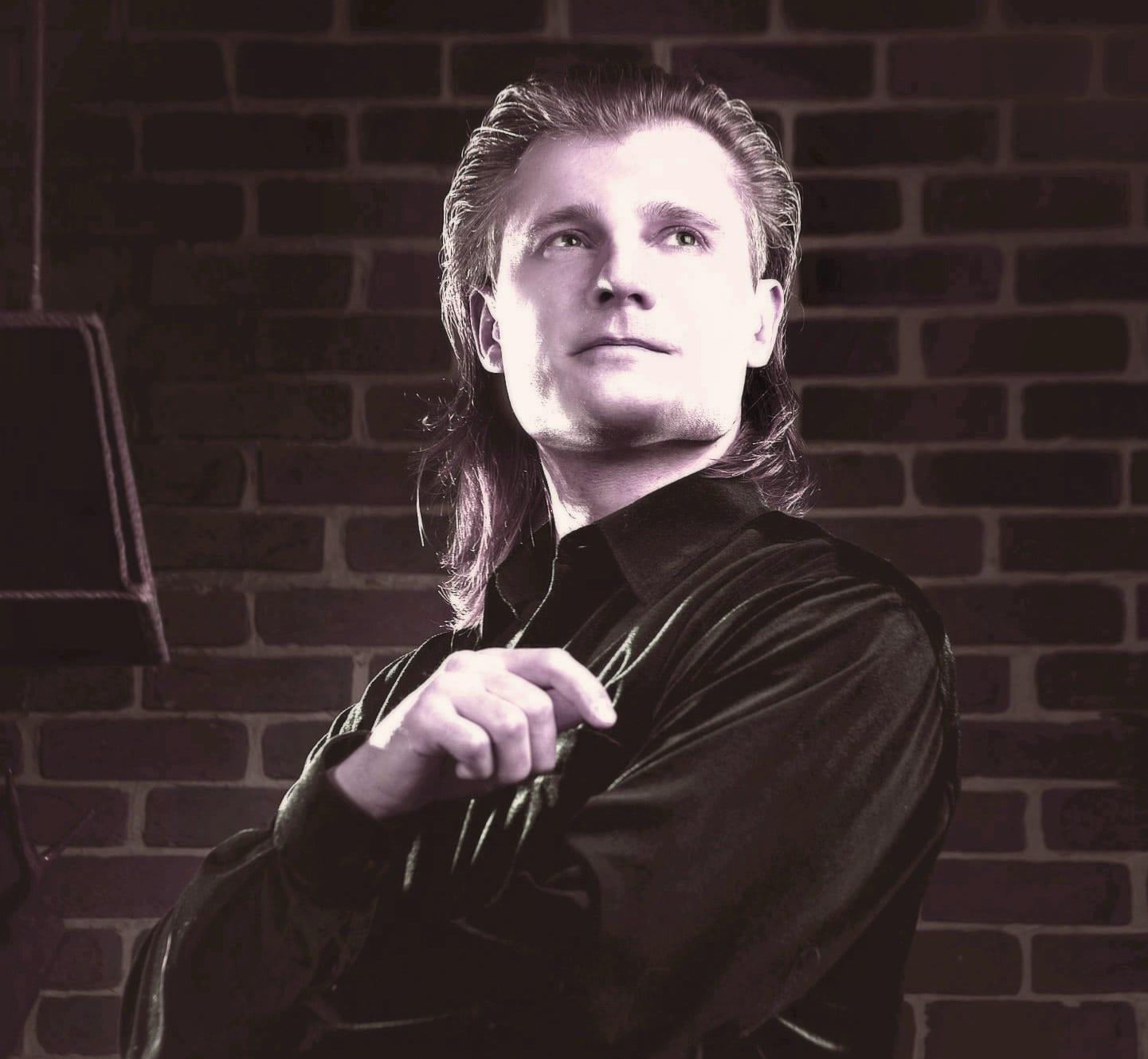 Музыкант Алексей Фомин
