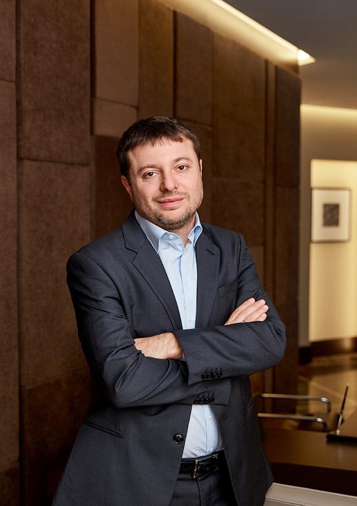 Бизнесмен Сергей Хотимский