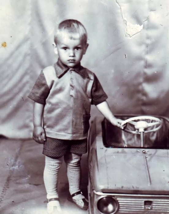 Захар Прилепин в детстве