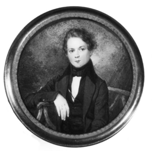 Портрет Роберта Шумана в детстве