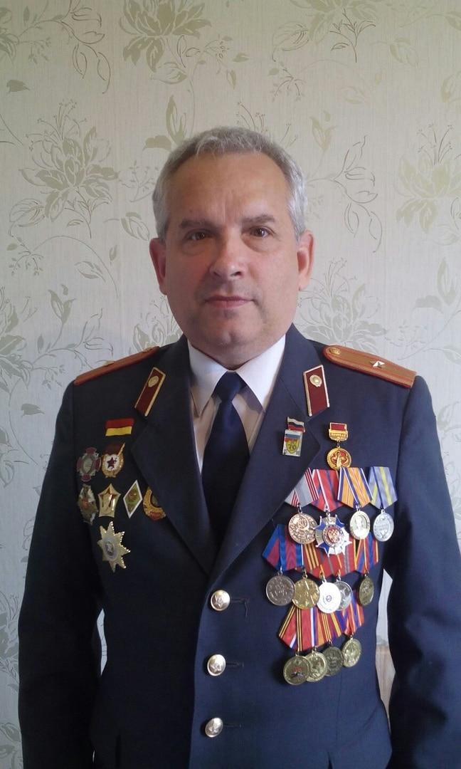 Майор Андрей Валентинович Малышев