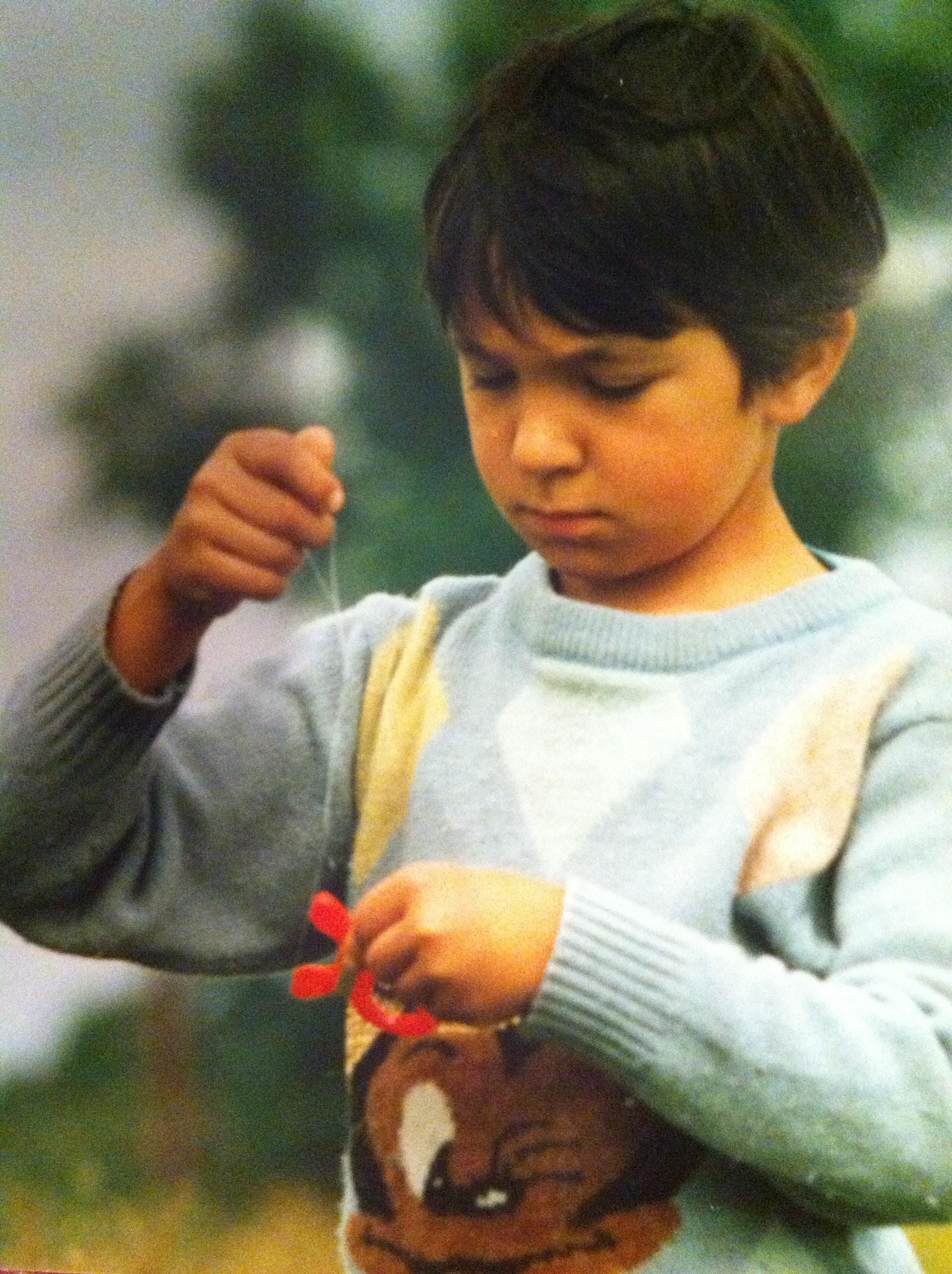 Сергей Болдырев в детстве