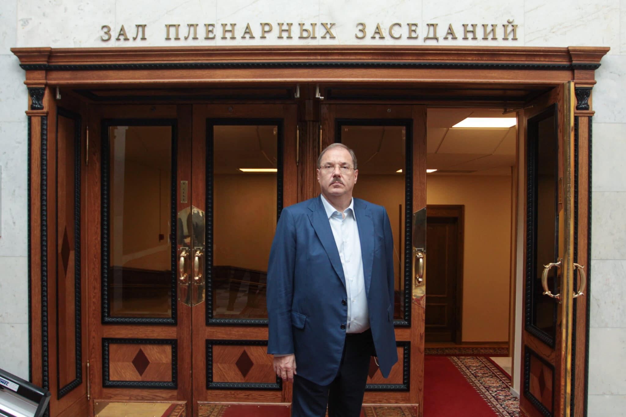Борис Пайкин в Государственной думе