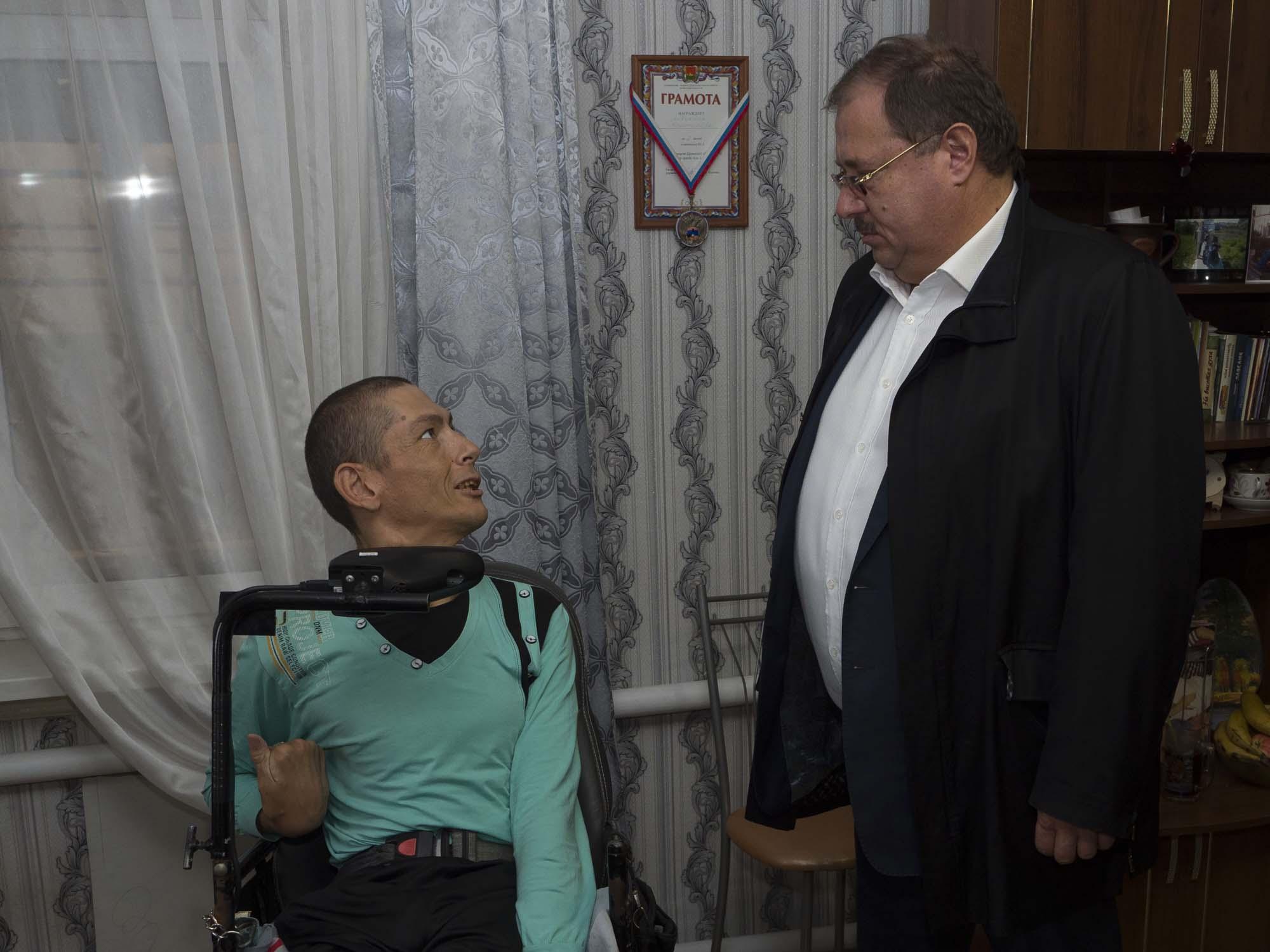 Благотворительня деятельность Бориса Пайкина