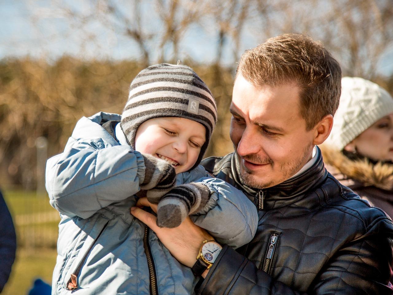 Александр Донской с сыном