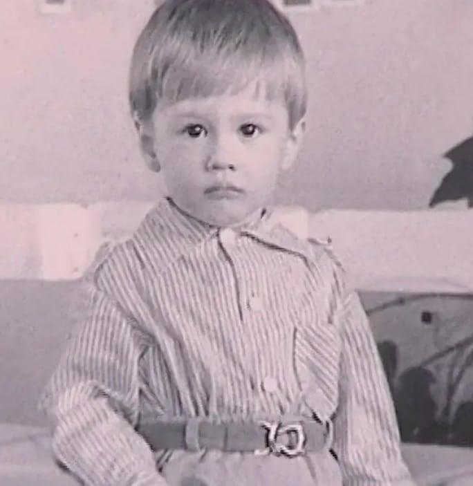 Алексей Немов в детстве