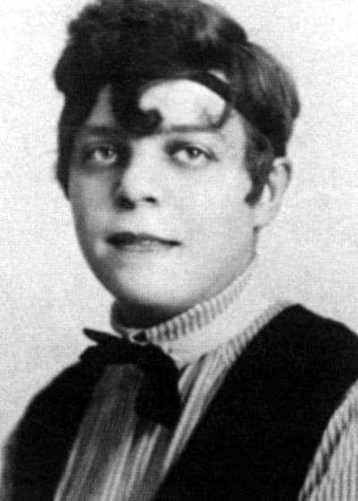 Аркадий Аверченко в юности