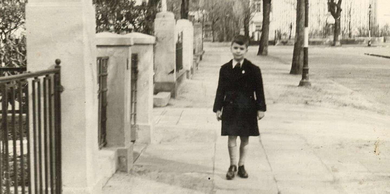 Карл Лагерфельд в детстве