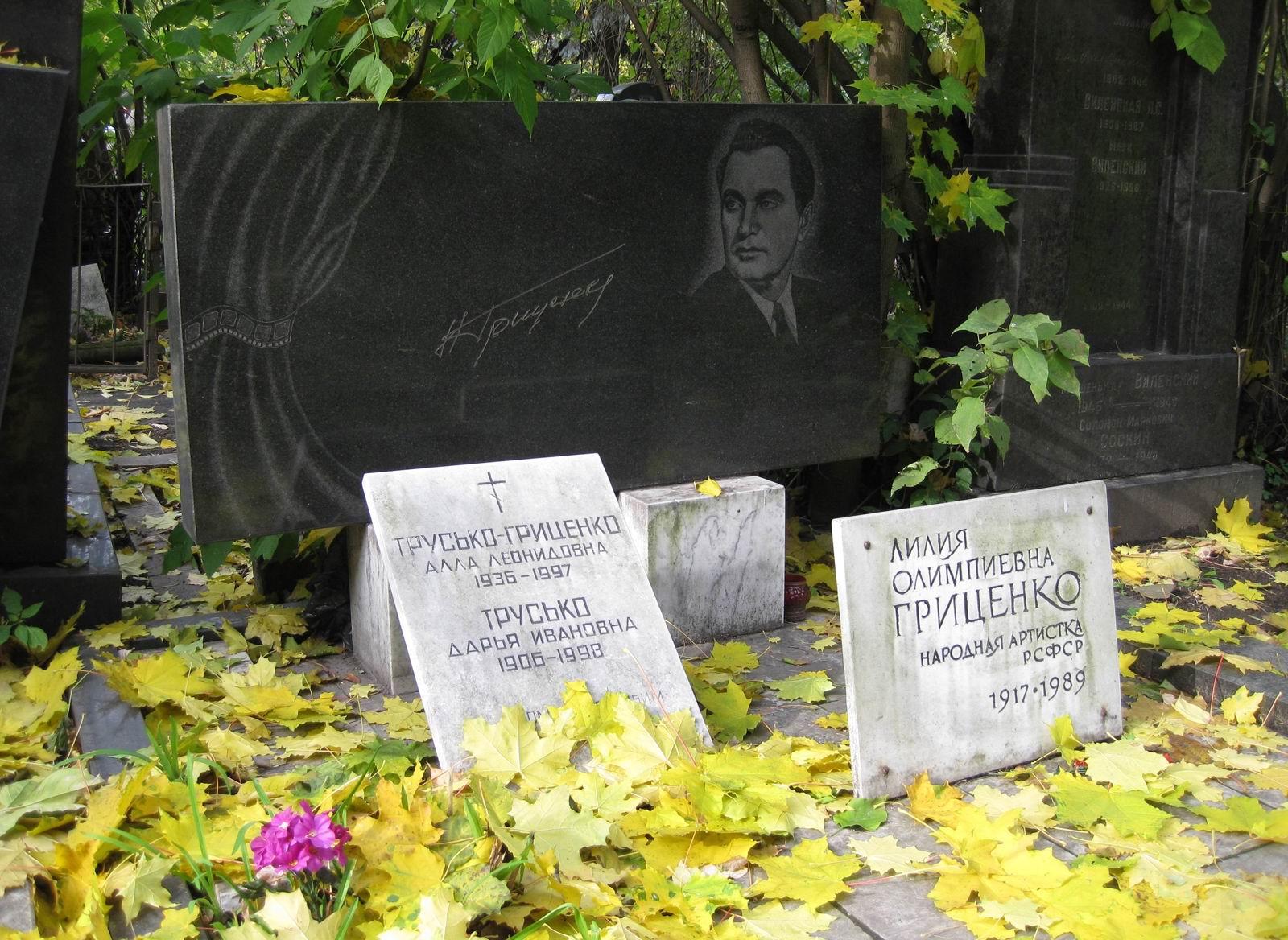 Николай Олимпиевич Гриценко