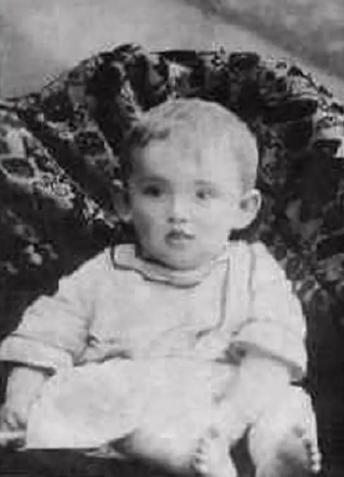 Александр Галич в детстве