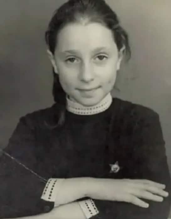 Юлия Рутберг в детстве