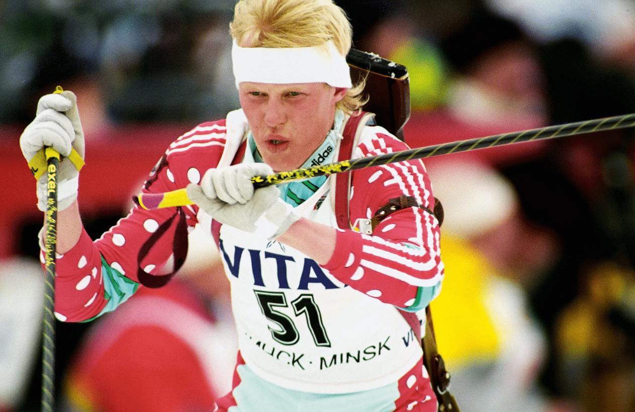 Биатлонист Сергей Чепиков