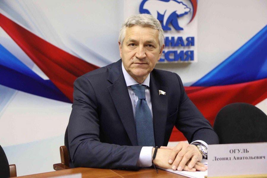 Политик Леонид Огуль