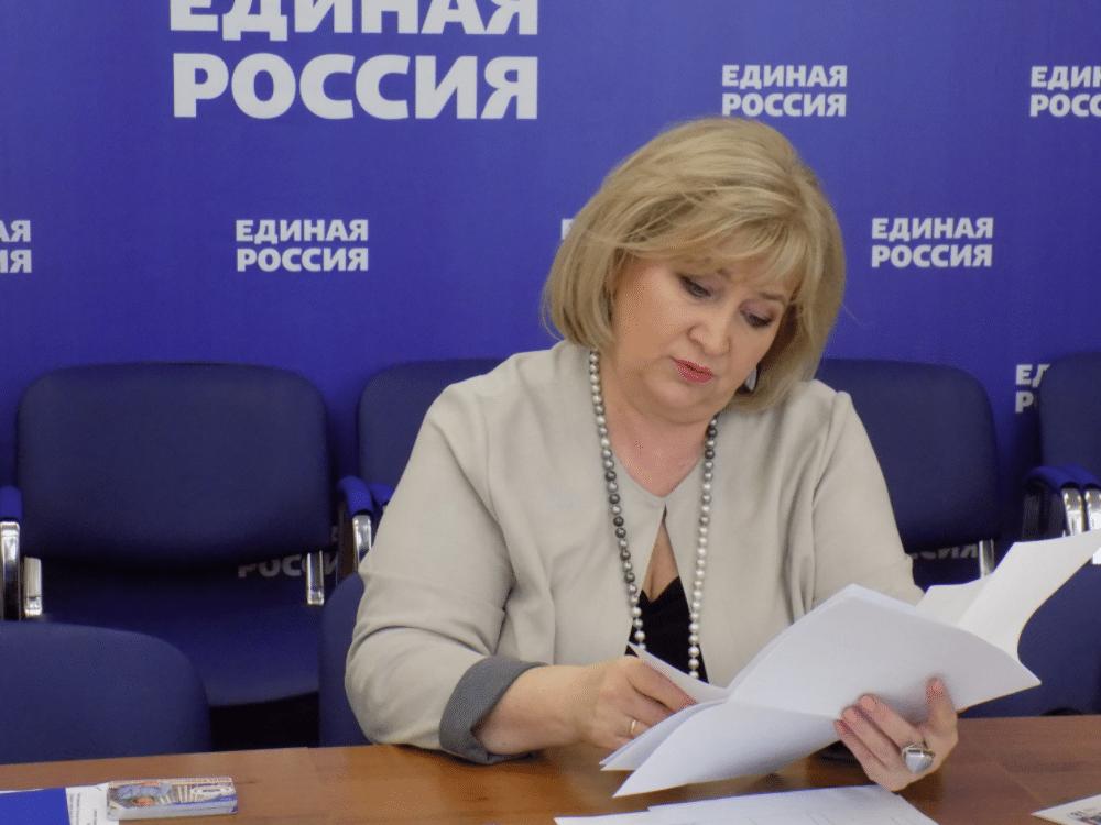 Депутат Елена Андреевна