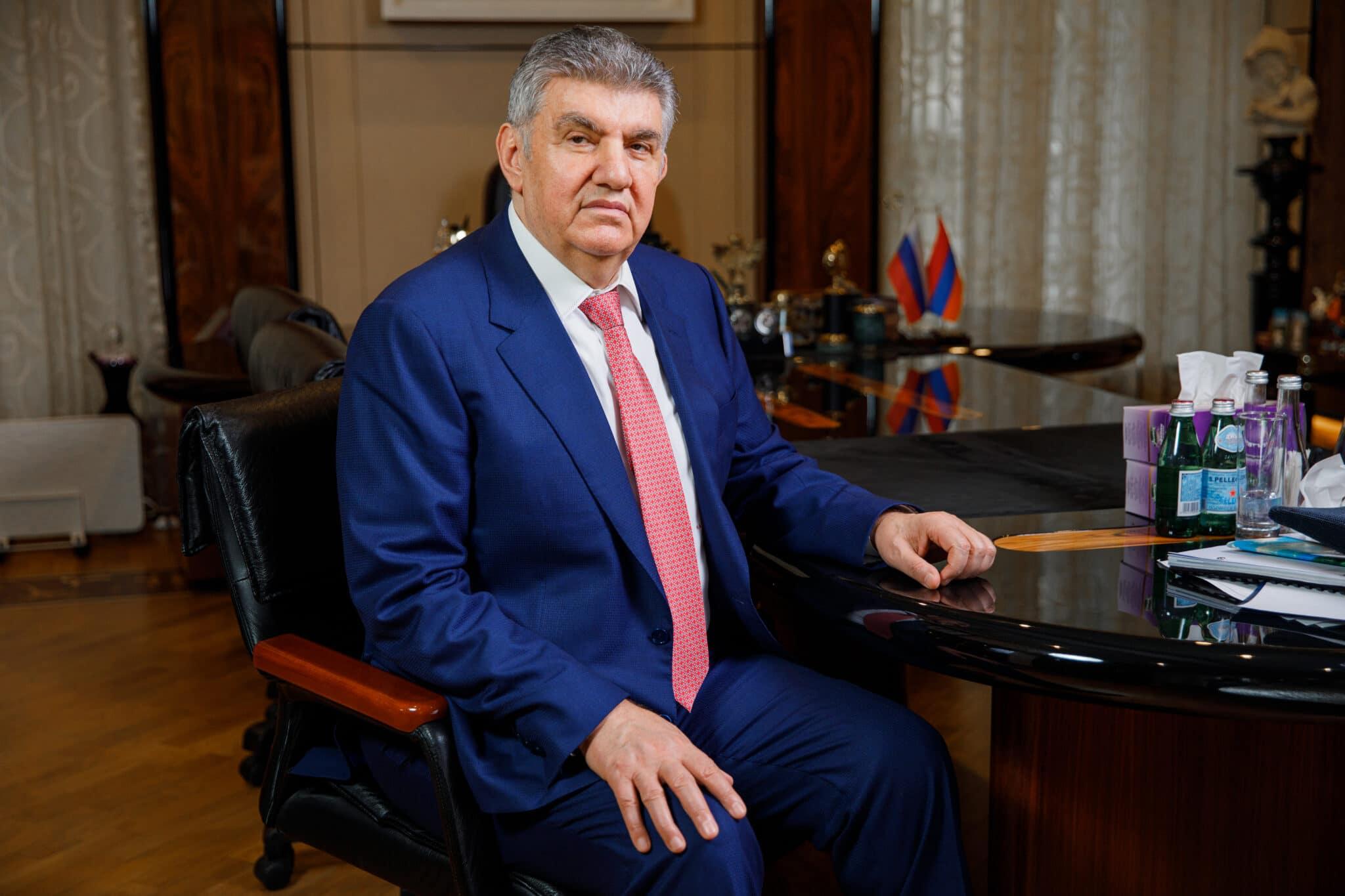 Президент Всемирного Армянского Конгресса Ара Абрамян