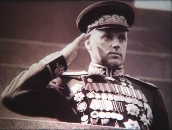 Маршал Рокоссовский в молодости
