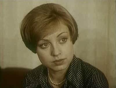 Елена Шанина в молодости